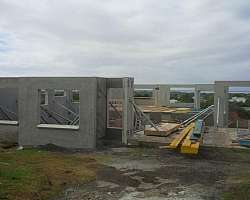 Galpão pré moldado concreto