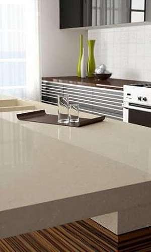 Bancada de mármore para cozinha
