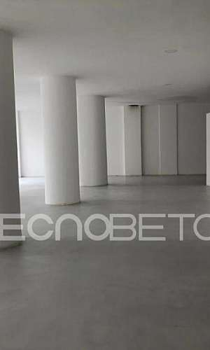 Cimento marmorizado para piso