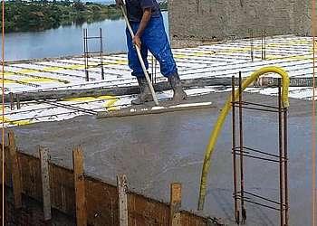 Cotar parede de concreto
