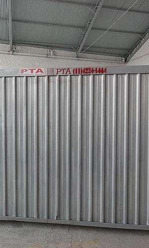 Container para construção civil preço