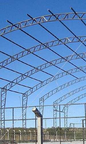 Fabricação de estrutura metálica especial