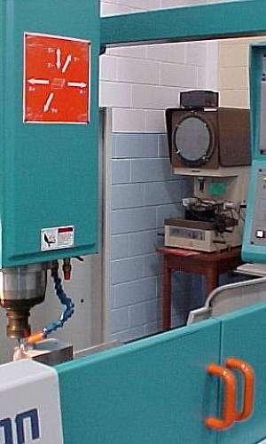 Fabricação de moldes