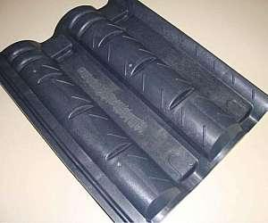 Forma telha de concreto