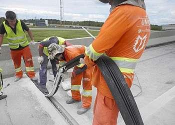 Estrutura de concreto pré moldado
