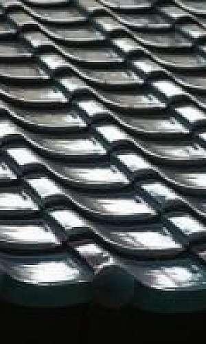 Molde de alumínio para telha de concreto