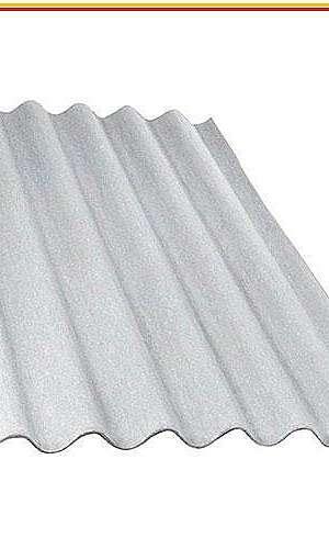 Telha fibro cimento amianto